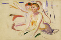Edvard Munch Bathing Women