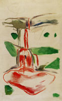 Edvard Munch Blood Waterfall