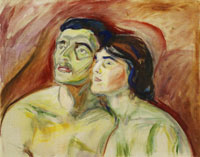 Edvard Munch Cheek to Cheek
