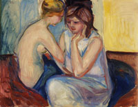 Edvard Munch Conversation