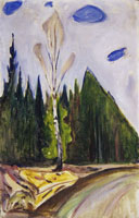 Edvard Munch Early Spring