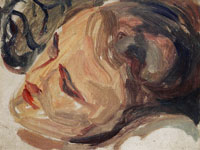 Edvard Munch Female Head