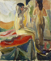 Edvard Munch Female Nudes, Seated and Standing