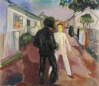 Edvard Munch The Fight