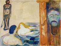 Edvard Munch Jealousy in the Bath