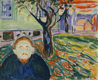Edvard Munch Jealousy in the Garden