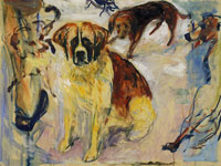 Edvard Munch In the Kennel