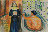 Edvard Munch Marat in the Bath and Charlotte Corday