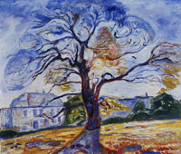 Edvard Munch The Oak