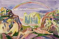 Edvard Munch The Rainbow