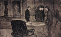 Edvard Munch Set Design for Henrik Ibsen's Ghosts