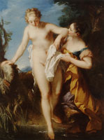 François Lemoyne The Bather