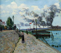 Jean-Baptiste Armand Guillaumin The Seine at Charenton