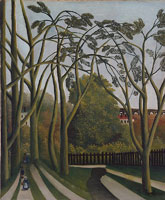 Henri Rousseau The Banks of the Bièvre near Bicêtre