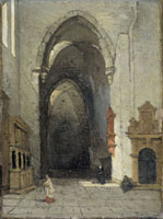 Johannes Bosboom Interior of the Dom in Trier