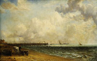 John Constable Yarmouth Jetty