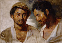 Peter Paul Rubens Two Studies of a Man