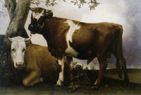 Theodorus Mesker - Copy of the Young Bull by Paulus Potter