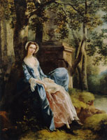 Thomas Gainsborough Portrait of a Lady, Possibly Miss Lloyd