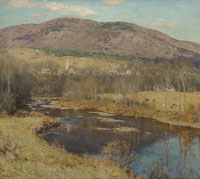 Willard Metcalf The North Country