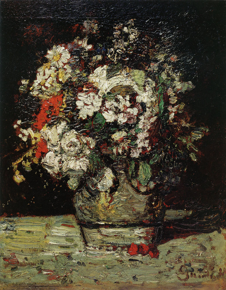 Adolphe Monticelli - Flowers