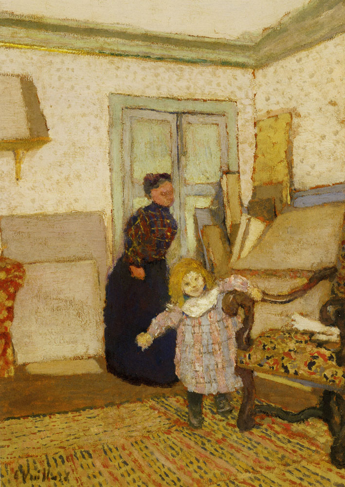 Edouard Vuillard - The First Steps