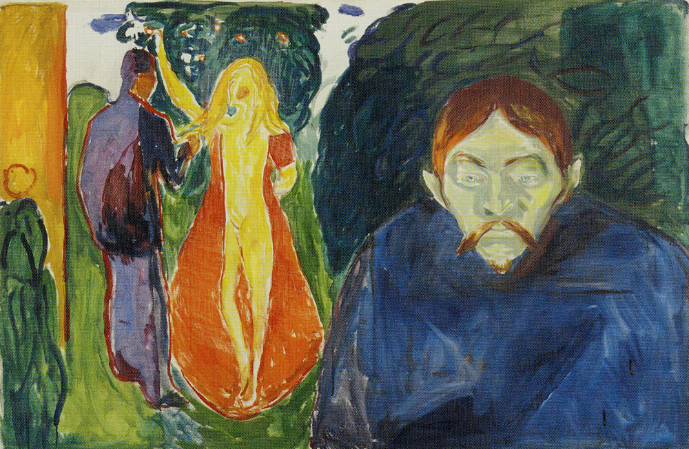 Edvard Munch - Jealousy in the Garden