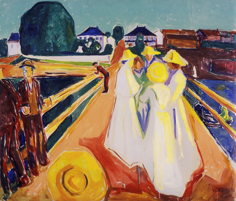 Edvard Munch - The Women on the Bridge