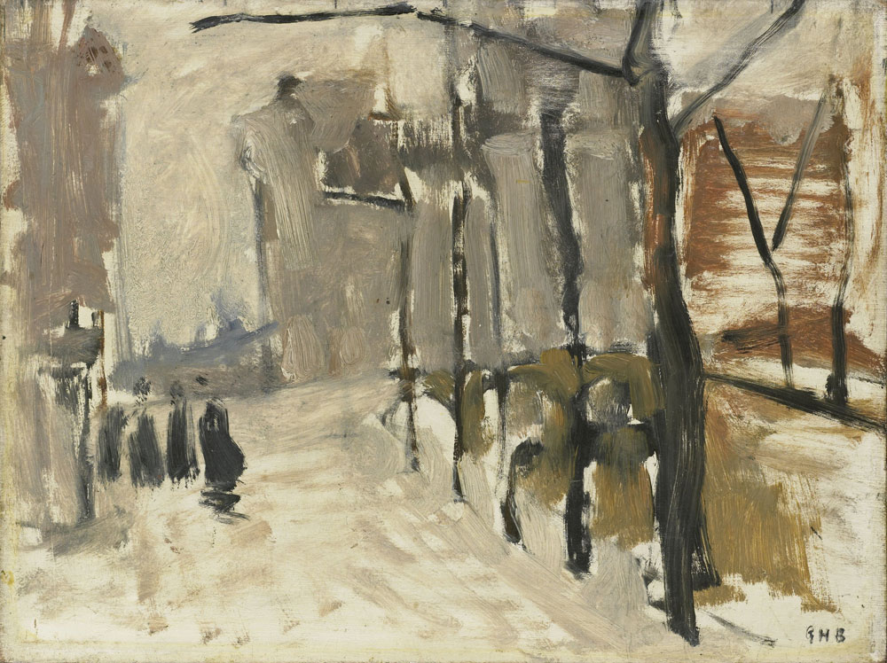 George Hendrik Breitner - View in The Hague