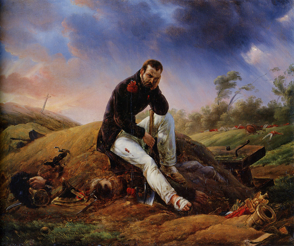 Horace Vernet - A Soldier on the Field of Battle