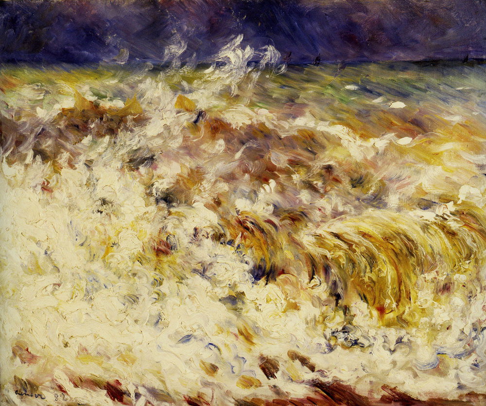Pierre-Auguste Renoir - The Wave