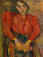 Chaim Soutine The Red Blouse