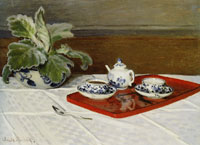 Claude Monet The Tea Service