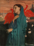 Edgar Degas Young Woman with Ibis