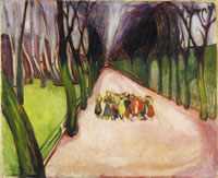 Edvard Munch Children on the Street
