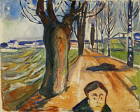 Edvard Munch Murder on the Road
