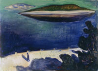 Edvard Munch View from Nordstrand