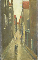 George Hendrik Breitner Neighbourhood Street in The Jordaan, Amsterdam