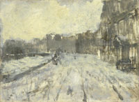 George Hendrik Breitner The Rokin in Amsterdam