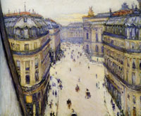 Gustave Caillebotte Rue Halévy, View from the Sixth Floor