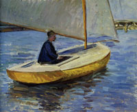 Gustave Caillebotte The Yellow Boat