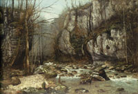 Gustave Courbet - Stream of the Puits-Noir at Ornans