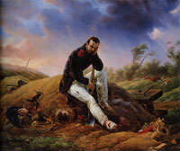 Horace Vernet A Soldier on the Field of Battle