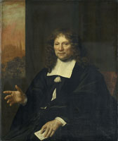 Adriaen Backer Portrait of Daniel Niellius, Elder of the Remonstrant Congregation at Alkmaar and Syndic