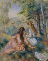 Pierre-Auguste Renoir - In the Meadow