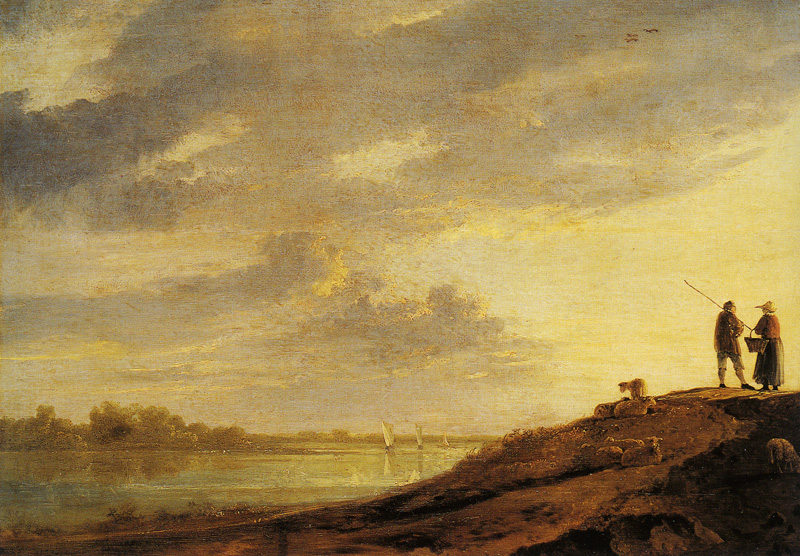 Albert Cuyp - River Sunset