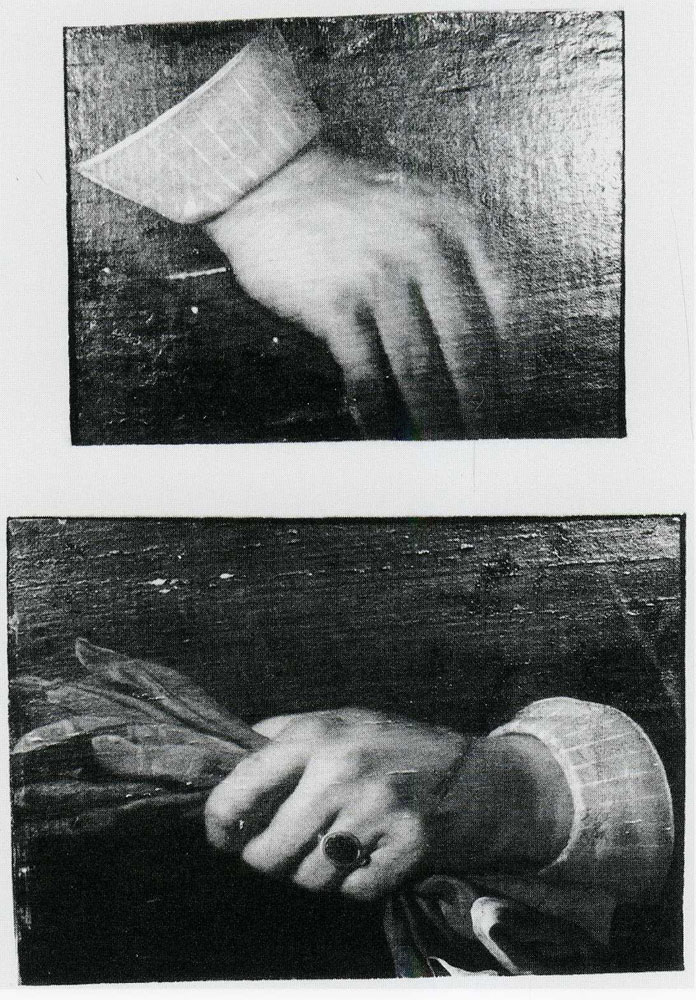 Bartholomeus van der Helst - Two Hands