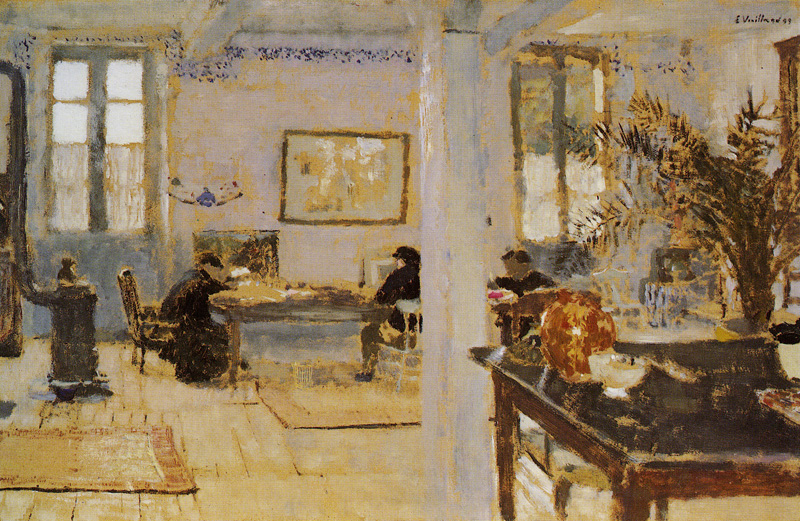Édouard Vuillard - In a Room