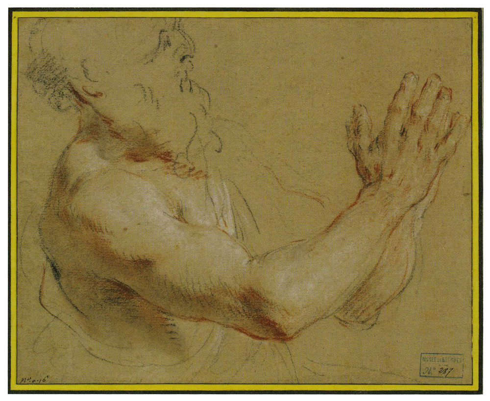 François Lemoyne - Study of a Man