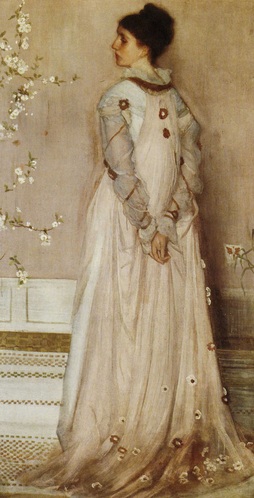 James McNeill Whistler - Symphony in Flesh Color and Pink: Portrait of Mrs. Frances Leyland